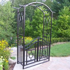 Have to have it. Oakland Living Royal Arbor with Gate - $399.99 @hayneedle