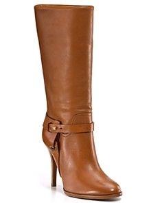 Ralph Lauren Cognac Boot - StyleSays
