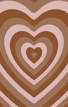 Hippie Wallpaper, Brown Wallpaper, Heart Wallpaper, Iphone Background Wallpaper, Cool Wallpaper, Cute Patterns Wallpaper, Aesthetic Pastel Wallpaper, Aesthetic Backgrounds, Aesthetic Wallpapers
