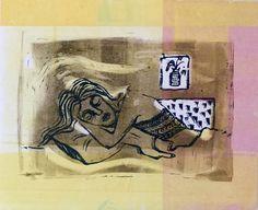 Doodles * Sketches * Illustrations — Linocut