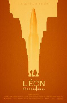 Leon: Die Professional 11 x 17-Filmplakat von adamrabalais auf Etsy