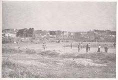 campos de futebol de varzea as margens do rio tieté em Sao Paulo