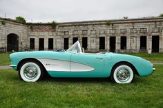 59' Corvette Convertible, the ONLY Chevy I would ever own, stunning!