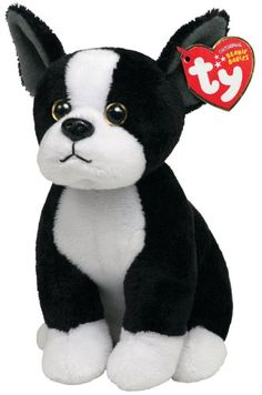 $4.99-$9.99 TY Beanie Baby TUX Boston Terrier Dog. For ages 3+.