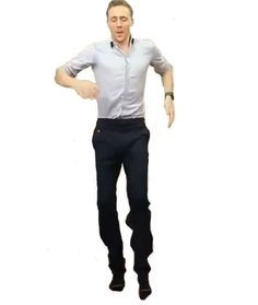 Here ,have a  dancing Hiddles ..
