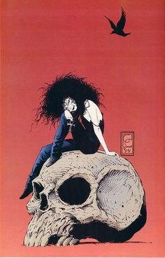 Death / Sandman - Rosana Raven ☥~ by Greg Capullo