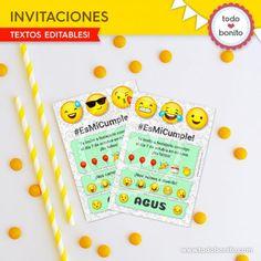 Invitaciones tipo mensaje de WhatsApp