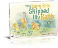 A little story about a little bear who doesn't want to take a bath and therefore decides to skip the bath and go fishing instead.