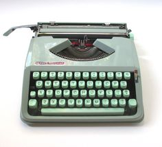 Hermes Rocket Portable Typewriter by TheVintageResource