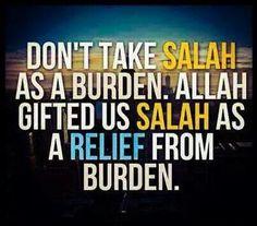 I love Allah.