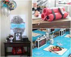 Craft That Party: SPY Birthday Party | Spy party | Pinterest