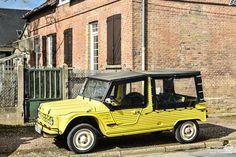 #Citroën #Mehari au rassemblement du Printemps d'Acquigny Reportage : http://newsdanciennes.com/2016/03/29/rassemblement-printemps-dacquigny/ #Voiture #Ancienne #ClassicCars