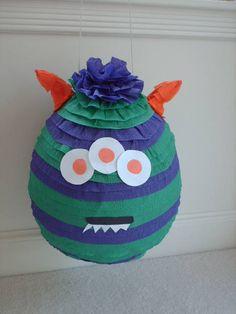 Monster Party Pinata by PinataParadise on Etsy, $39.00