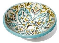 Moroccan style hand painted sink!!!!