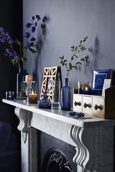 Sainsbury's Autumn/Winter 2014 - Indigo Home Accesories #sainsburys; #autumndreamhome