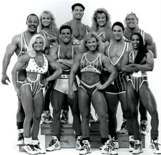 Before UFC there was American Gladiators.