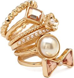 Forever 21 Mix & Match Ring Set