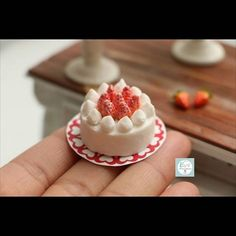 Today i made miniature cake with polymerclay ♡♡♡♡♡ ♡♡♡♡ ♡♡♡♡♡ http://www.youtube.com/user/TheCLAYROOM  #miniature  #polymerclay #food #fimo #clay #미니어쳐 #폴리머클레이 #miniaturefood #icecream #miniaturebowls #fakesweets #airdryclay #clay #dollhouse  #handmade #핸드메이드 #이브미니어쳐 #인형의집  #dollhouse # blueberry #miniaturecake
