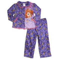 5aaa65c3c4 Amazon.com  Disney Sofia L S PJ Set - Purple-2T  Pajama Sets  Clothing