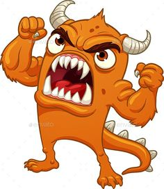 Find Cartoon Orange Monster Screaming Vector Illustration stock images in HD and millions of other royalty-free stock photos, illustrations and vectors in the Shutterstock collection. Funny Monsters, Cartoon Monsters, Monsters Inc, Little Monsters, Cartoon Art, Monster Characters, Cartoon Characters, Monster Illustration, Illustration Art