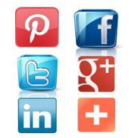 Pinterest, Facebook, Twitter, Google  1, LinkedIn, AddThis - PrestaShop Module