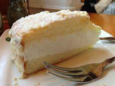 Tento úžasny tvarohovo-vanilkový krém je vhodný ako plnka do torty alebo koláča. Cupcake Cakes, Cupcakes, Vanilla Cake, Nutella, Sweet Recipes, Tiramisu, Cheesecake, Cream, Cooking