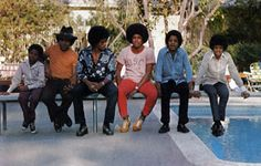 The Jackson 5 / The Jacksons Page Tito Jackson, Jackie Jackson, Jermaine Jackson, Randy Jackson, Jackson Family, Michael Jackson, Berry Gordy, Michael Love, The Jacksons