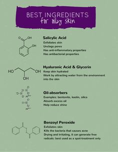 Dealing with oily, shiny, prone-to-breakouts skin is a pain. The key is to use ingredients that absorb excess sebum and hydrate skin without adding more oil to it. But, what are they and where can you find them? Click through to find out.