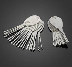 UniversalD® - 20psc Double Sided Padlock Picks Door Lock Opener Locksmith Tool C.N. http://www.amazon.com/dp/B00WX2B1X8/ref=cm_sw_r_pi_dp_LBYBvb13DJZ2S