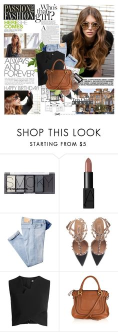 """""""Happy Birthday Sophiek82!"""" by mars ❤ liked on Polyvore featuring Andrea, Gerber, H&M, NARS Cosmetics, Valentino, Carven and Chloé"""