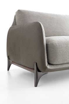 A sofa that's the perfect blend of modern and cozy with its sophisticated lines and overstuffed cushions.