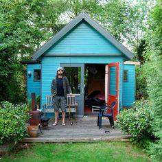 I want a backyard studio house