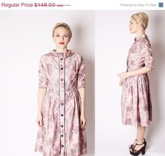 40 Off SALE  60s Pink Black and Gray Asian Style by aiseirigh, $88.80