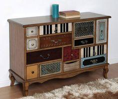 Muebles Portobellostreet.es: Comoda Pastaza - Cómodas Vintage - Muebles de Estilo Vintage