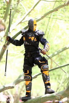 Deathstroke #Cosplay 2014 Phoenix Comicon (PCC)