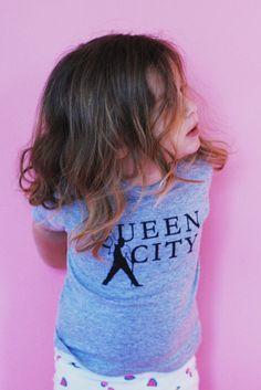 Queen City Toddler Tee