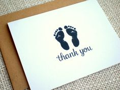 Items similar to Baby Shower Thank You Card Set - Set of 10 Cute Simple Baby Footprints Thank You Note Cards - Boy Girl or Gender Neutral - Hand Drawn Design on Etsy Baby Shower Thank You Cards, Thank You Note Cards, Baby Footprints, New Baby Gifts, Solar Energy, Videos, New Baby Products, How To Draw Hands, Christmas Gifts