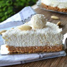 Raffaello No-Bake Cheesecake