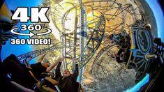 Time Traveler Roller Coaster 360 Degree POV Silver Dollar City Branson M...