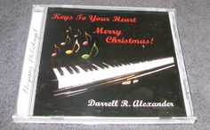 Keys to Your Heart * by Darrell Alexander (CD 2002 Rechords 4 U) NEW! SEALED! #Christmas