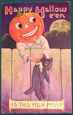 Halloween Postcard by riptheskull, via Flickr