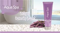 Need a moment for yourself, but don't have the time or budget to get away? Take a beauty break with Aqua Spa Body Cr�me as you turn off the world and tune into you. No appointment necessary.Relax mind and body with the calming relief of lavender and chamomile. #GoVoxBox