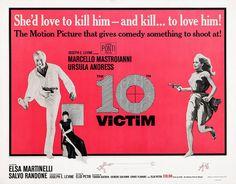 The 10th Victim, Aka La Decima Vittima Photograph by Everett