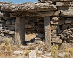 Dragon houses: mysterious megalithic buildings in central and southern part of the island of Euboea