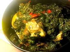 Nigerian Soup Recipe, Nigerian Food, White Soup, West African Food, Bean Cakes, Eating Alone, Vegetable Stew, Food Labels, Savoury Dishes