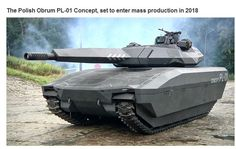 AMAZING MILITARY TANKS - POLISH OBRUM PL-01 CONCEPT TANK TO ENTER PRODUCTION IN 2018!