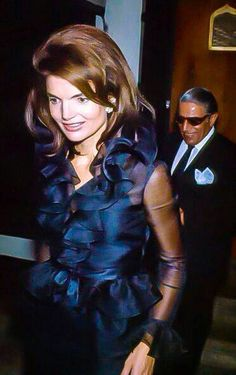 Jacquelyn Kennedy Onassis and Ari Onassis