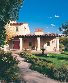 1000 images about ojai house on pinterest flat roof for Spanish house names suggestions