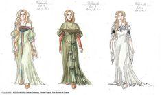 Costume Design - Pelleas et Melisande