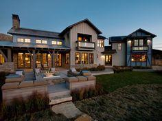 Contemporary Large House Exterior #house #exterior